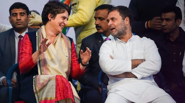 Delhi assembly elections: Rahul Gandhi and Priyank