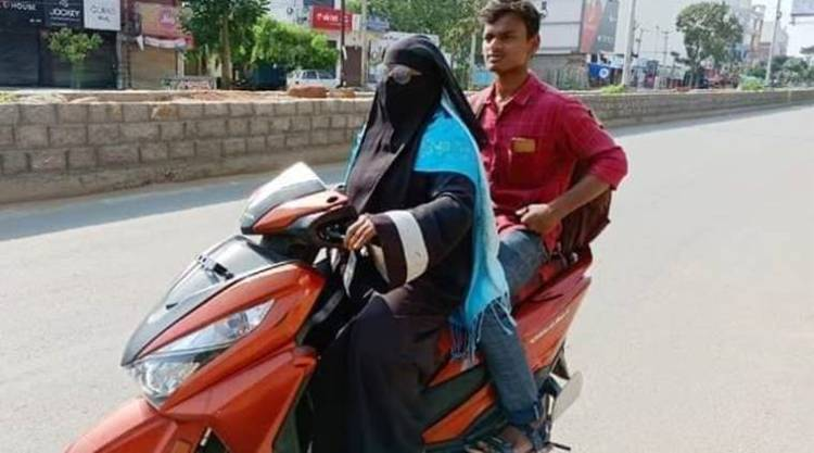 Nizamabad: Mother drives scooter for 1400 km get h