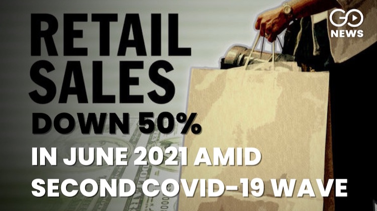 Retail sales up in June but slowly-slowly