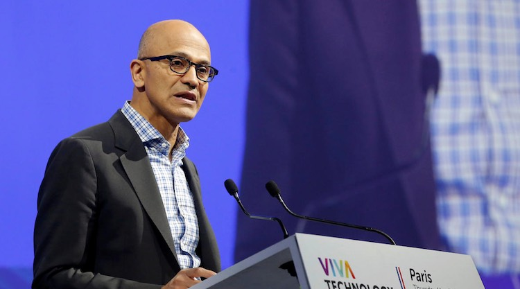 Microsoft CEO Satya Nadella said on citizenship la