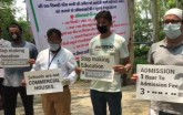 Parents sit on hunger strike in Ghaziabad over wai