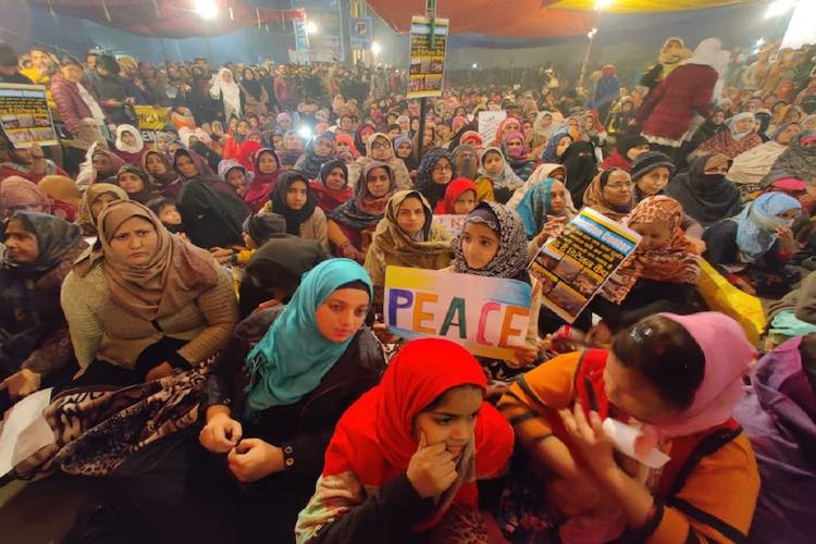 On the lines of Shaheen Bagh, women started protes