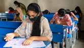 JEE test begins amid pandemic and floods, special
