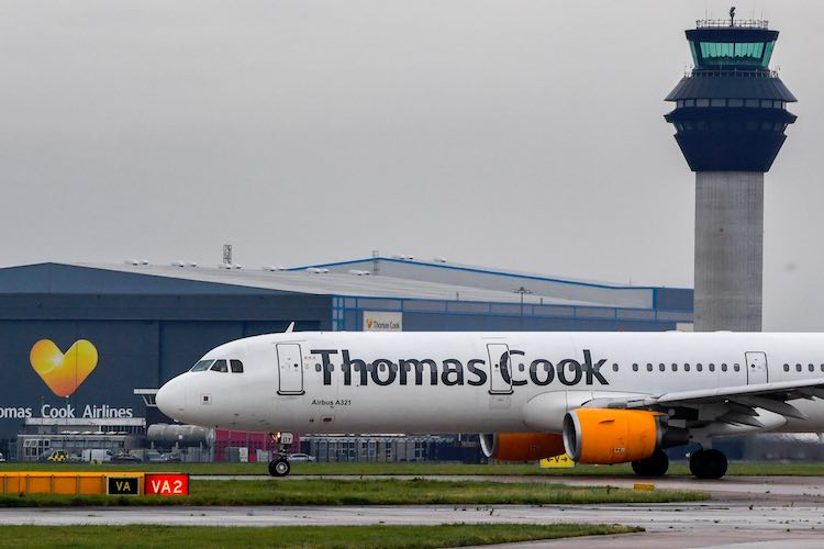 178 year old Revolutions company Thomas Cook UK go