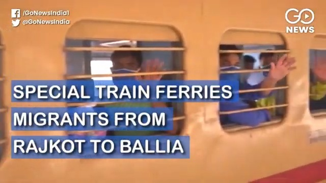 Special Train Ferries Migrants From Rajkot To Ball