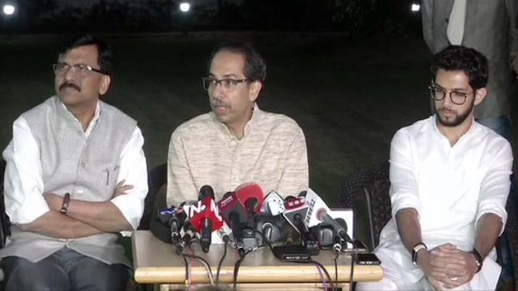 After meeting the Prime Minister, Uddhav Thackeray