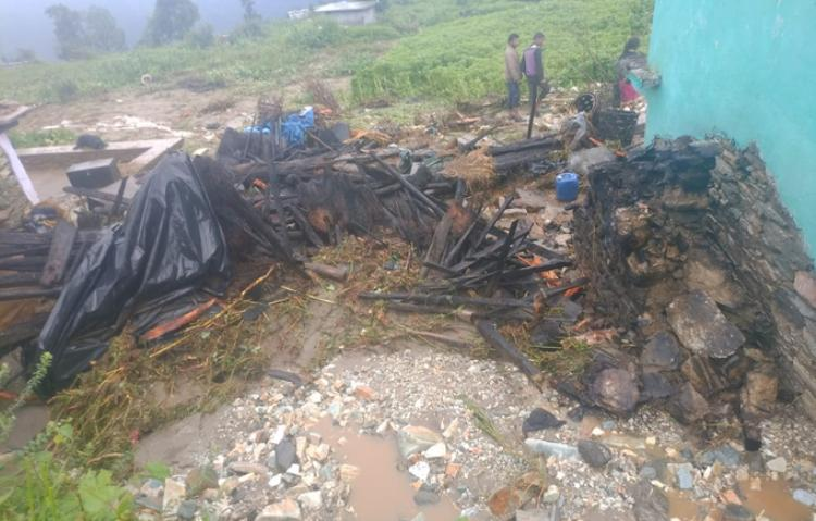 Cloud burst in Chamoli, bridge shed in Pithoragarh