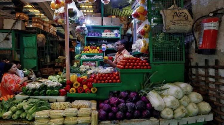 Wholesale food inflation rose 11.08 percent in Nov