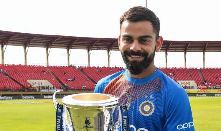 Kohli set several records by scoring double centur