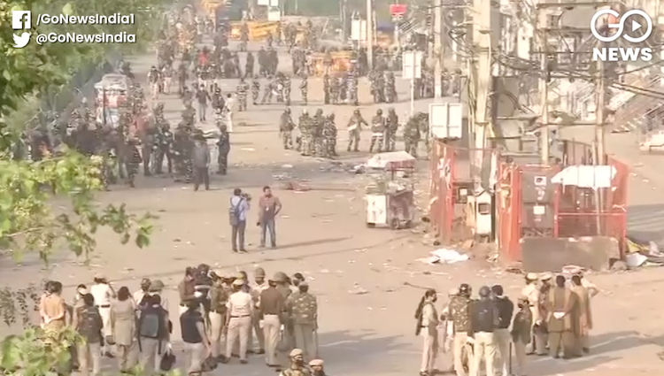 Shaheen Bagh picket site vacated by Delhi Police,