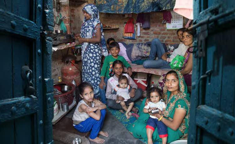 40 crore population of the country forced to live