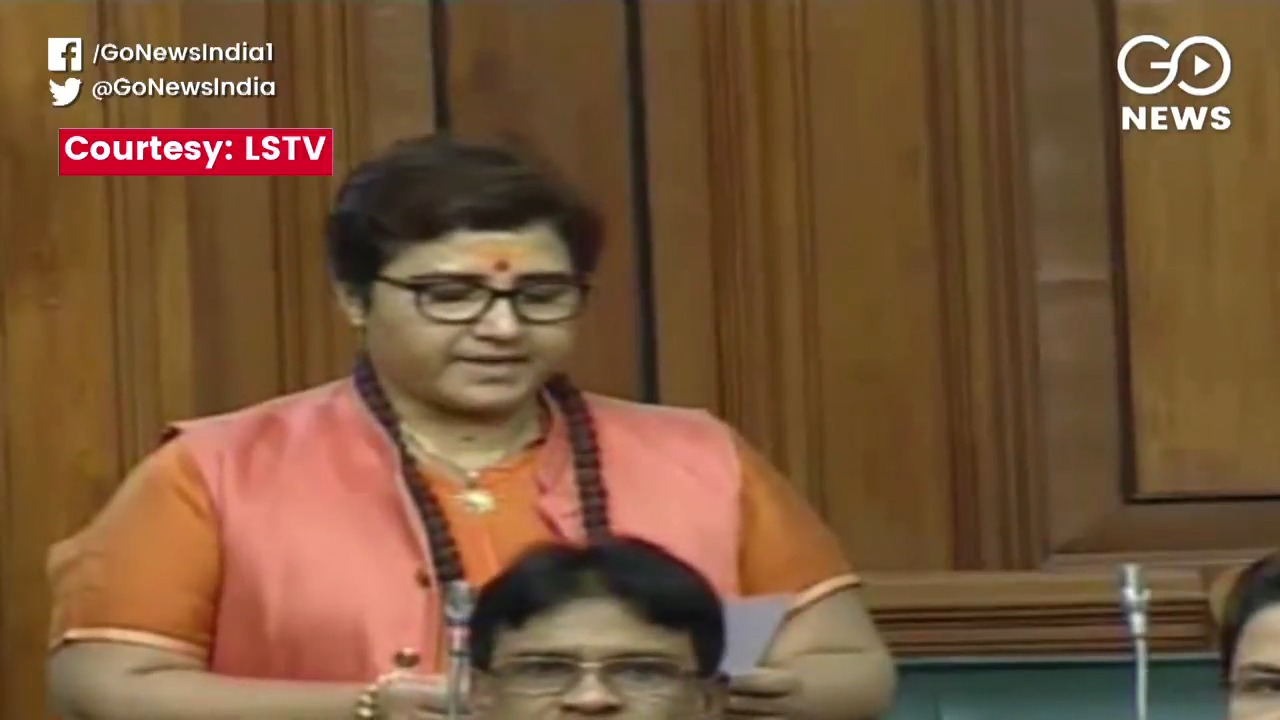Pragya Thakur Apologies Twice In Parliament For Go