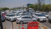 Heavy Traffic At Delhi-Noida-Gurugram As Border Re