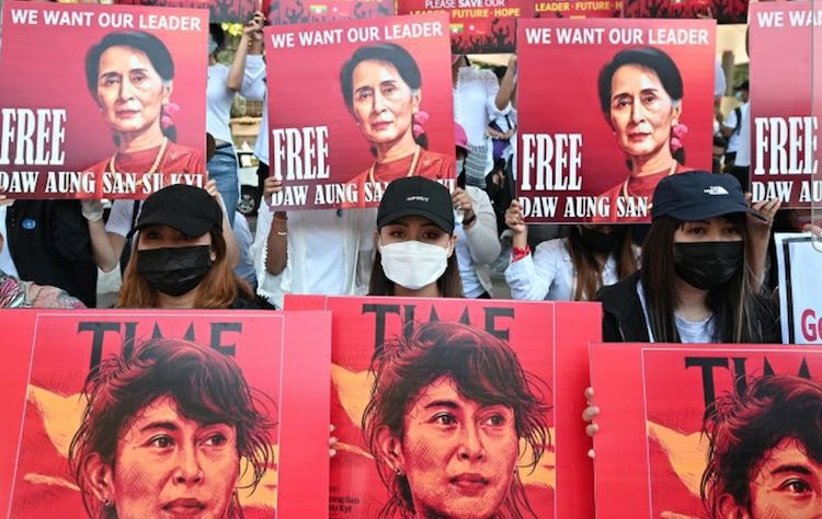 Democracy restoration movement picks up in Myanmar