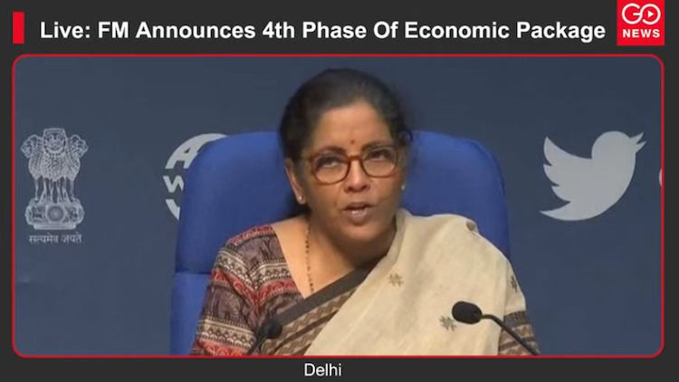 Live: FM Announces 4th Phase Of Economic Package