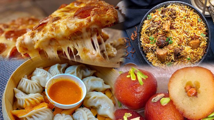 In the Corona era, pizza and momos became most ord