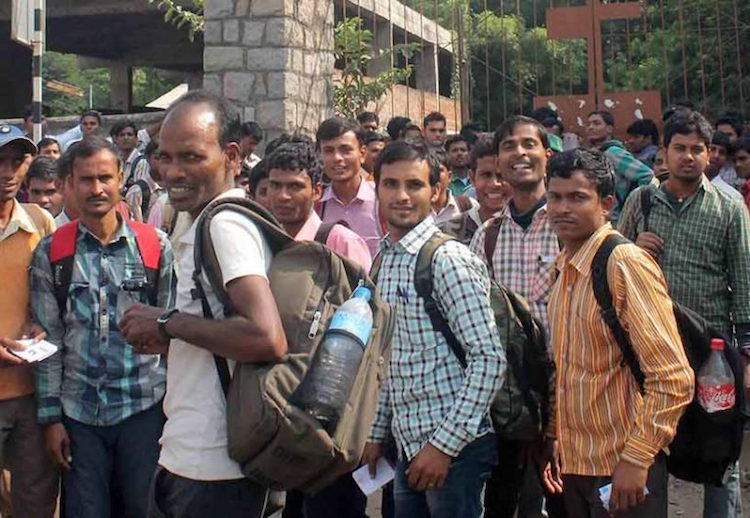 More than 12 crore daily wage workers in the count
