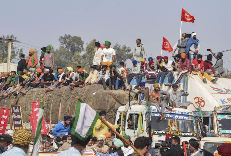 Eighth day of Farmers agitation, 'PM Modi should m