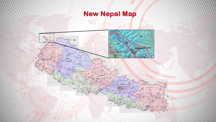 New map approved in Nepal's Upper House