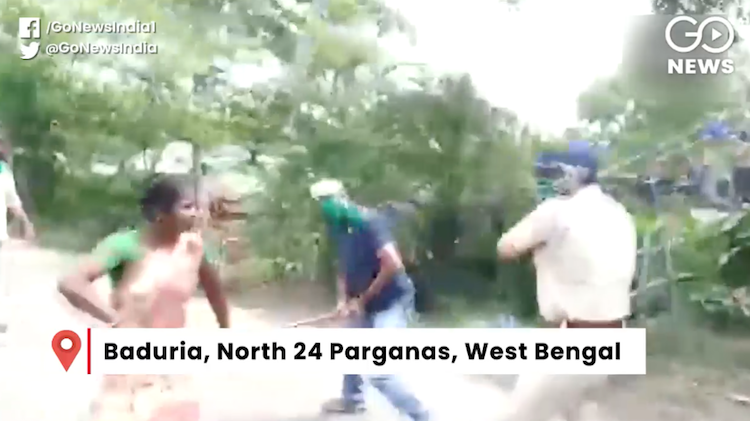 Police lathicharge on demand for proper ration in